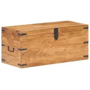malle en bois cdiscount maison