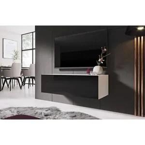 meuble tv ferme en bois ferme