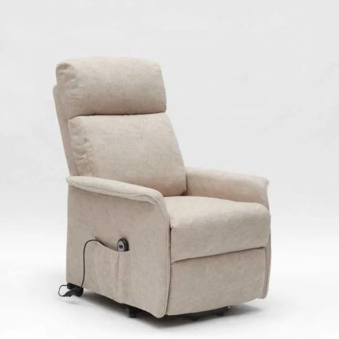 fauteuil relax electrique avec systeme releveur et