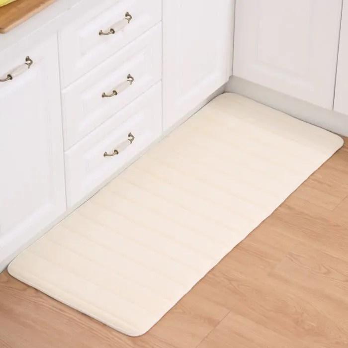 tapis de cuisine 50 x 120 cm devant evier tapis de