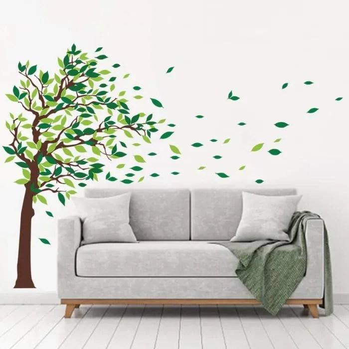 stickers muraux arbre geant