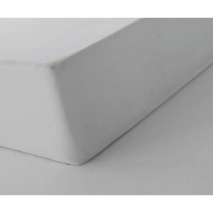 Drap Housse 100 Coton Blanc Des Vosges 120 X 190 1 Pers Blanc Coton Bdv Blanc Coton Bdv Cdiscount Maison
