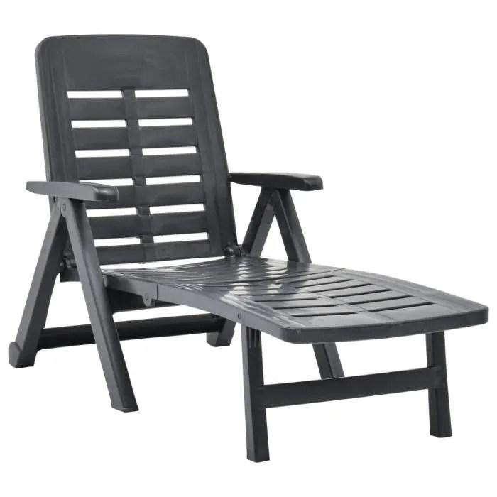 fauteuil de jardin en fil plastique