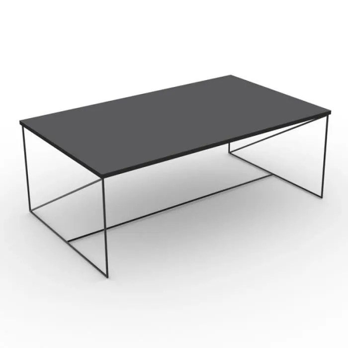 table basse design oparine 100cm noir