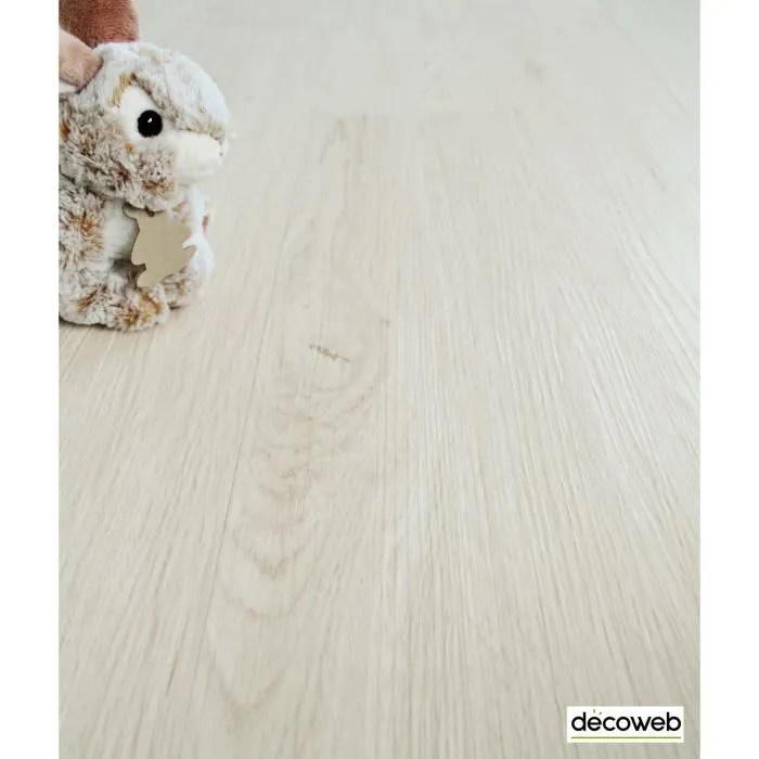 lot de 8 lames sol vinyle performance clic 5g parquet chene blanchi 1 76 m