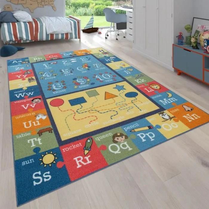 tapis pour enfants tapis educatif pour chambres d
