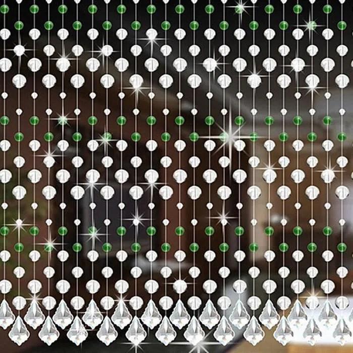verre cristal luxe salon chambre porte