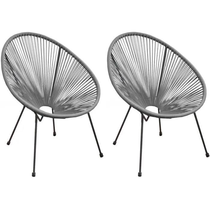fauteuil fil de jardin en metal et