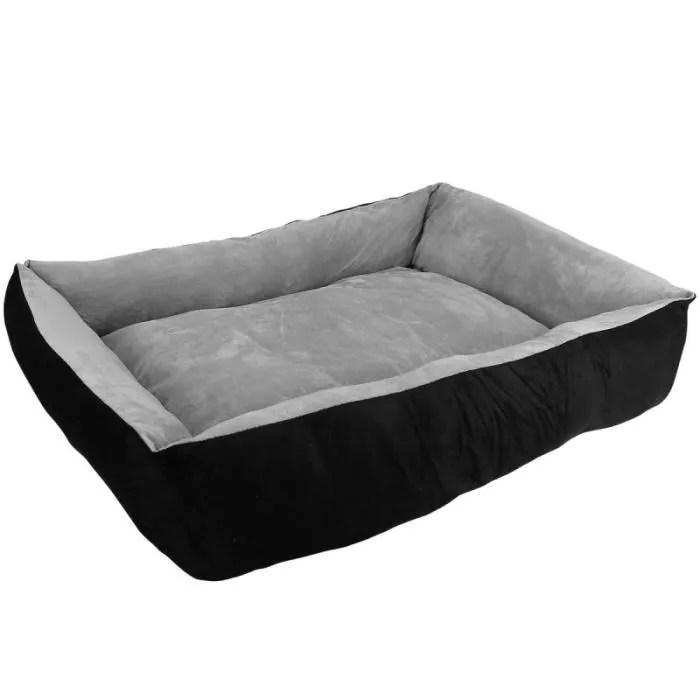 panier lit pour chien et chat taille m gris