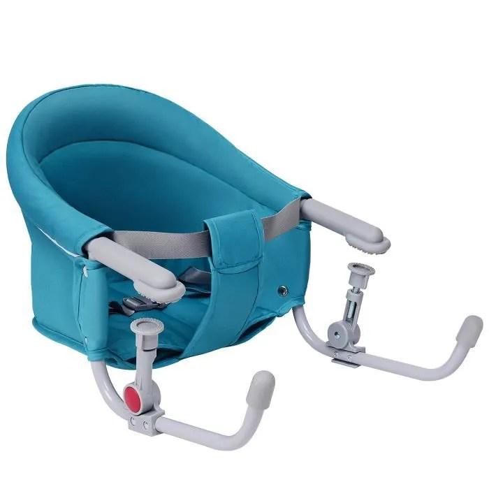 giantex siege de table avec crochet rapide chaise haute pliable avec sac de rangement bebe chaise portable pour maison et voyage