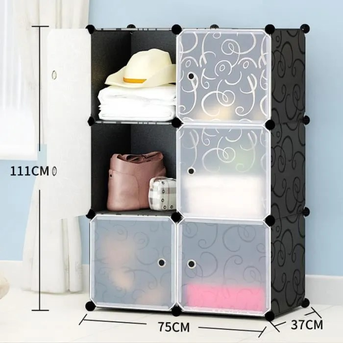 armoire de vetement de rangement plastique garde r