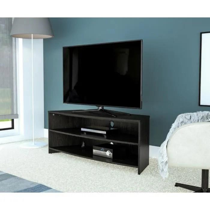 meuble tv d angle gris largeur 120 cm