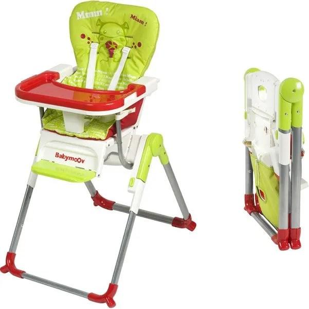Chaise Haute Compacte Slim Vert Rouge Achat Vente Chaise