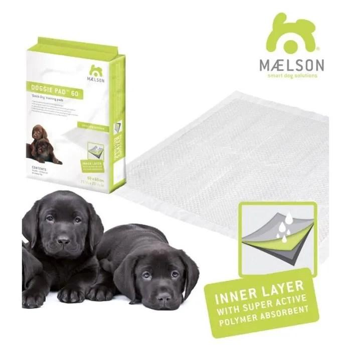 doggie pad maelson tapis educateur pour chien