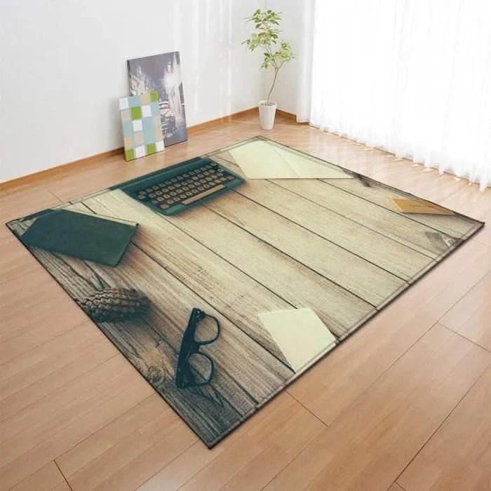 tapis salon anti acariens