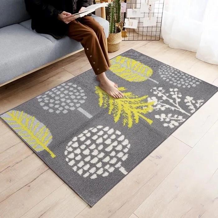 tapis de sol d entree antiderapant lavable 80x110