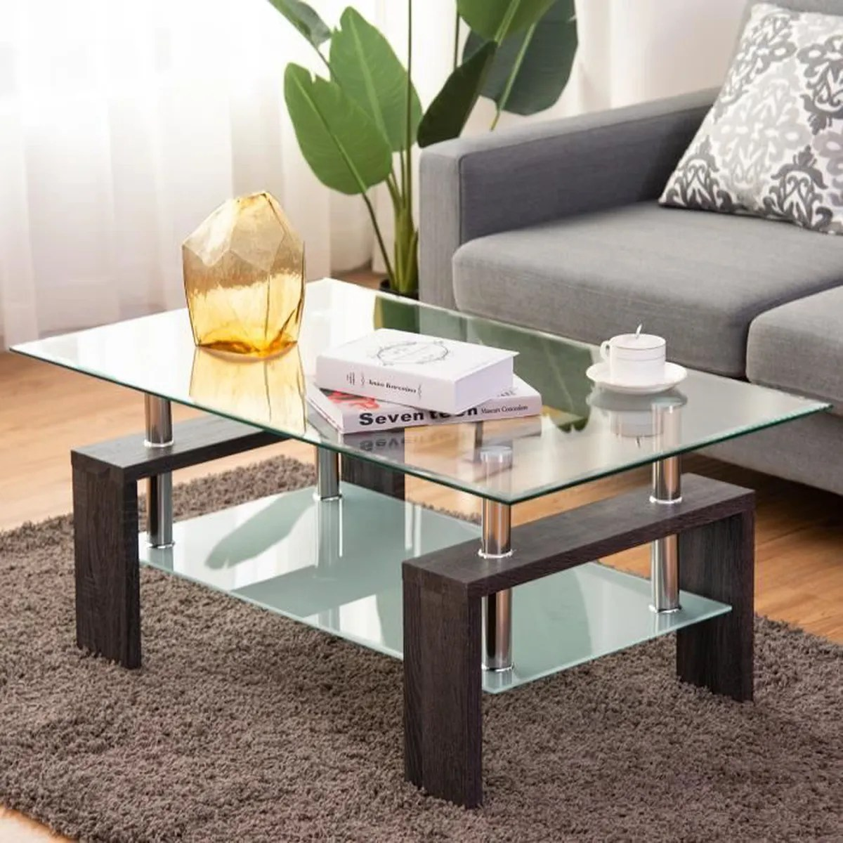 salon table basse scandinaves
