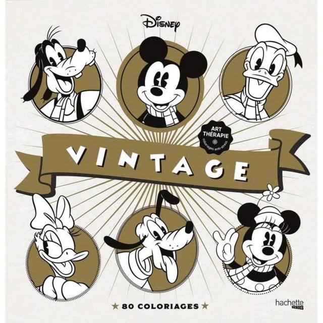 Les coloriages Disney Vintage - Laetitia Sala - Achat / Vente