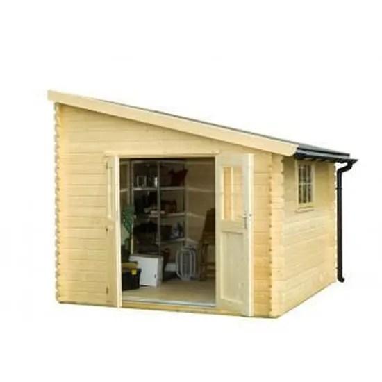 abri de jardin bois 9 7 m2 adossable