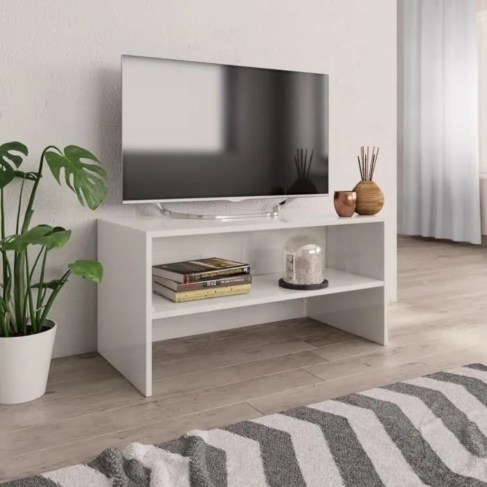meuble tele hauteur 80 cm
