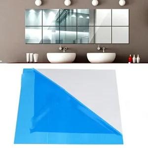 adhesif effet miroir stickers muraux
