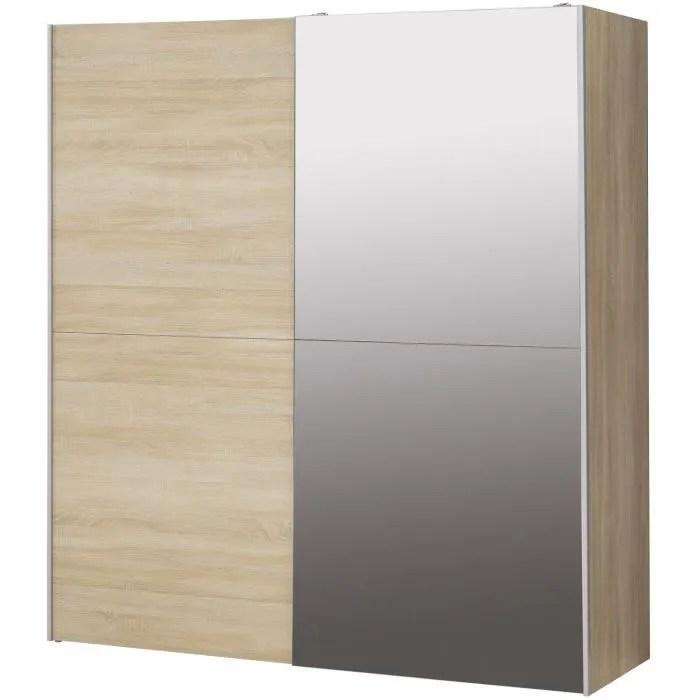 armoire chambre d angle adulte portes coulissantes