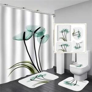 set accessoires salle de bain blanc et rose