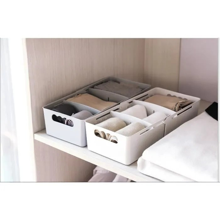 range couvert rose rangement tiroir lot de 5 longueur extensible 32 14 8cm boite de rangement pour vaisselles et affaires