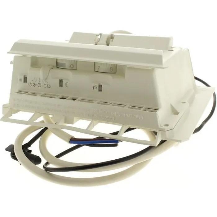 boitier thermostat 2 molettes curseur pour radia