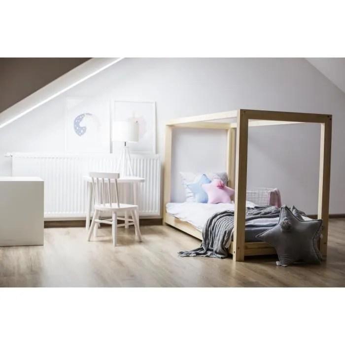 lit enfant 120 x 190 cm avec sommier et