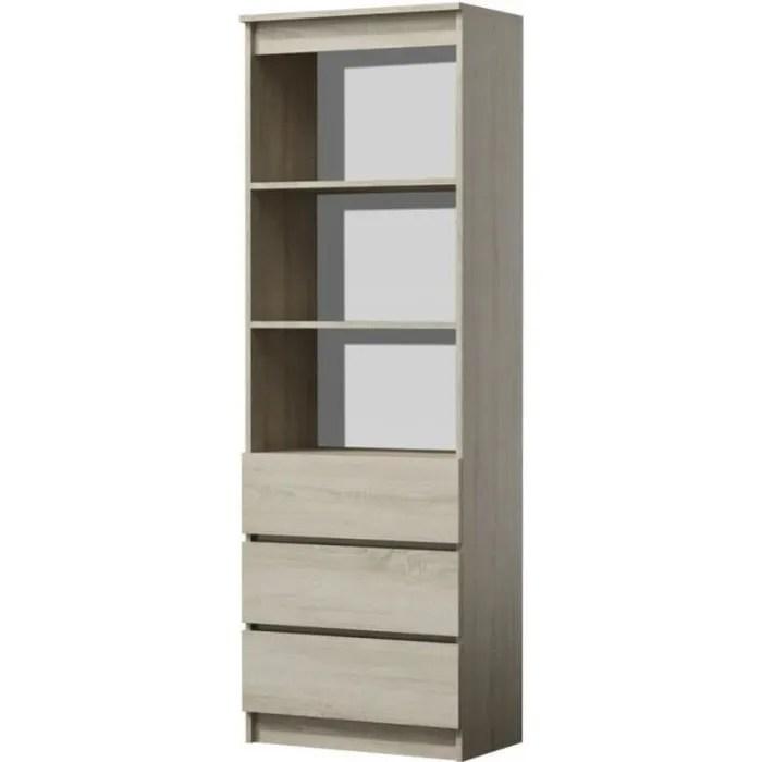 catania meuble de rangement avec casiers bureau