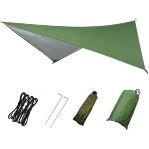 bache sol camping