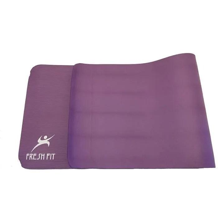 fresh fit tapis de yoga grand tapis de