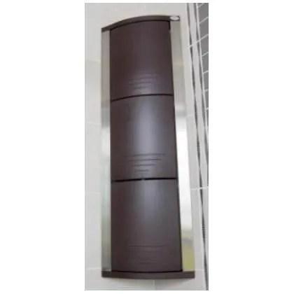 armoire sdb rangement d angle salle de