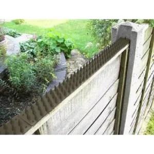 Bande Piques Barriere Pic Cloture Mur Repulsif Anti Chat Nuisible Jardin Patio Autres Jardin Terrasse