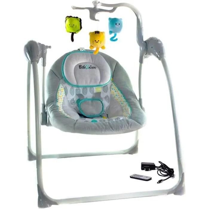 bebe 2 luxe balancelle transat bebe electrique l