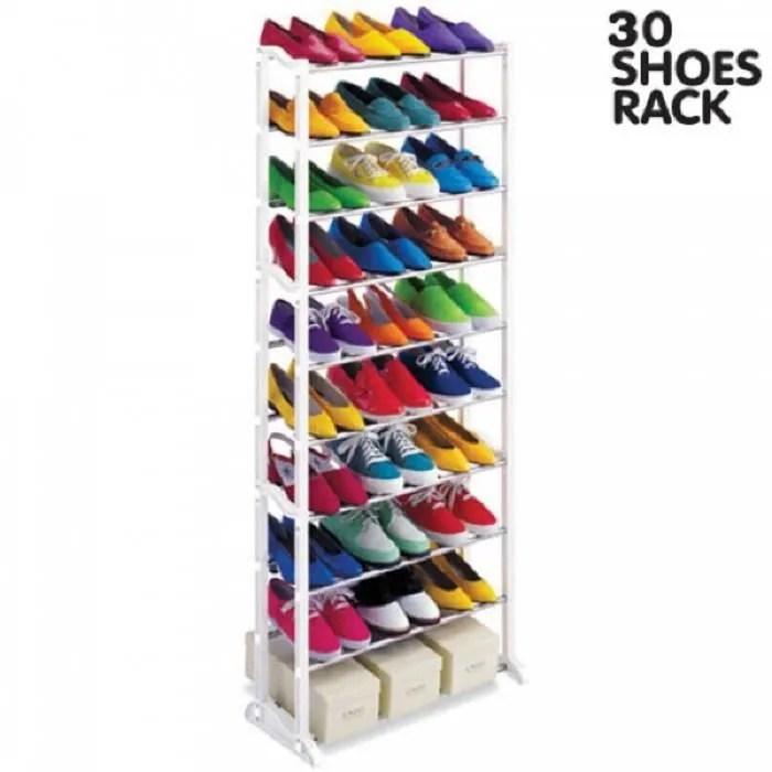 etagere pour chaussures 30 paires lot de 2