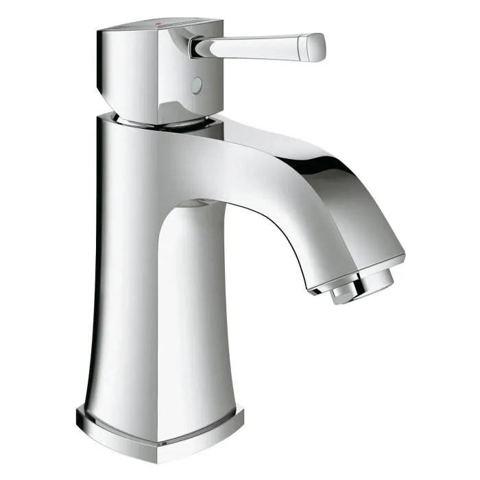 grohe robinet de salle de bains grandera corps lis