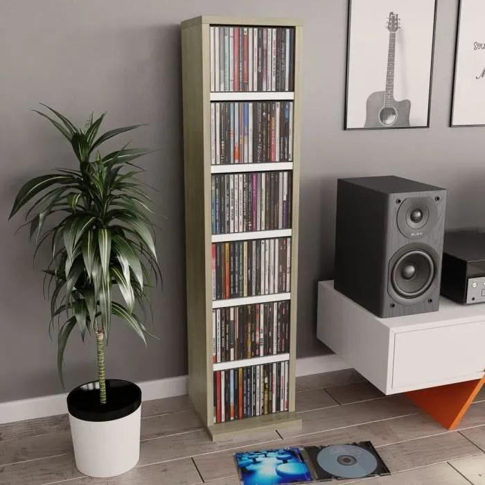 armoire a cd meuble de rangement pour cd et dvd me