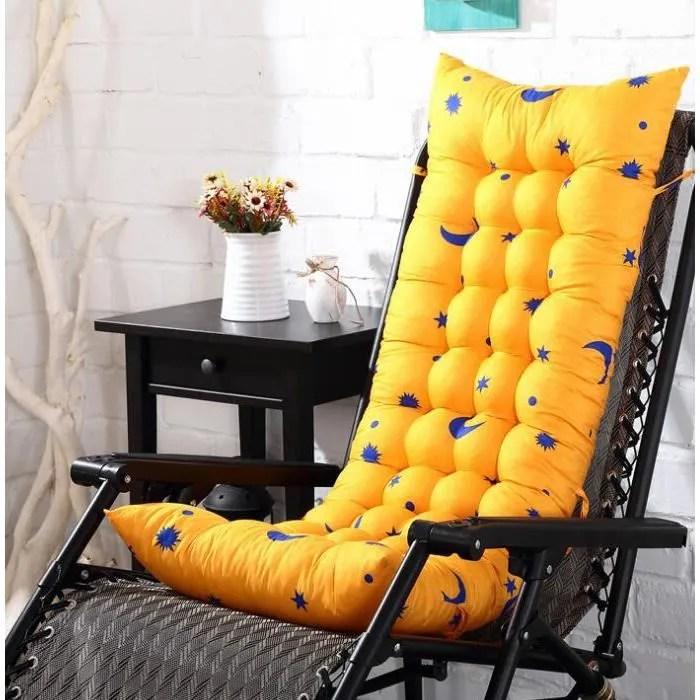 coussin de chaise longue galette de chaise coussin