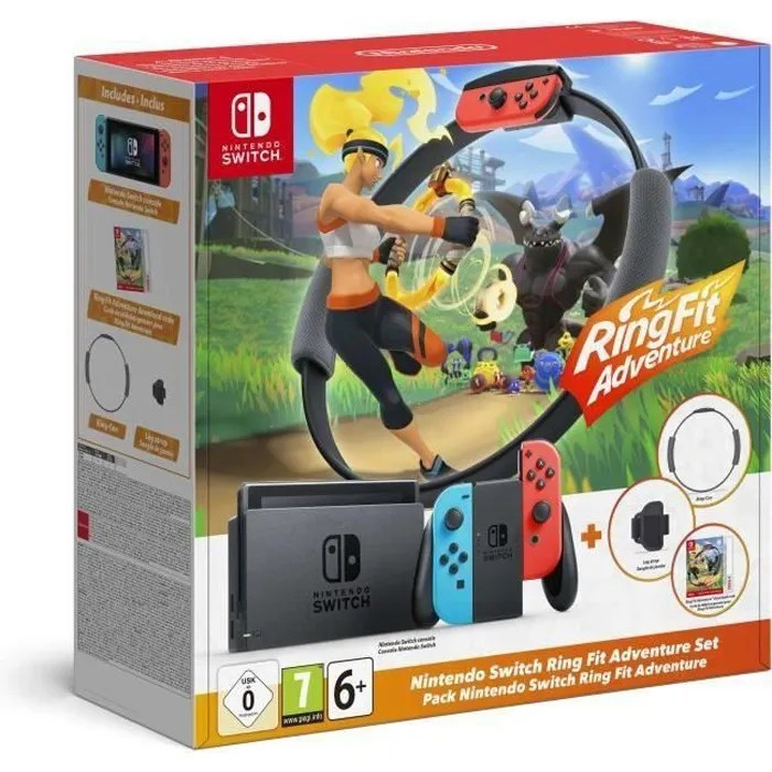 console nintendo switch ring fit adventure
