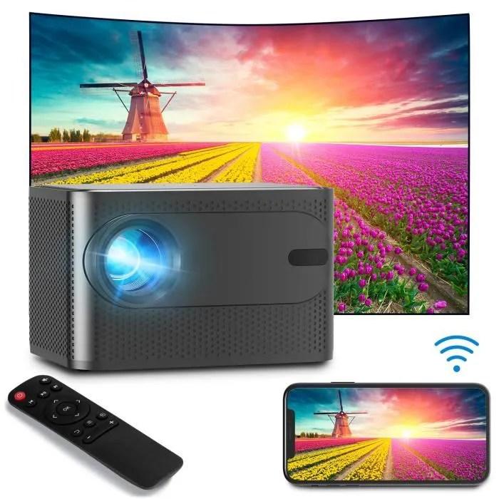 2019 videoprojecteur 4k portable led 3d hd 1080p h
