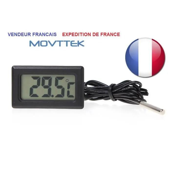thermometre digital avec sonde pour aquarium sonde movttek