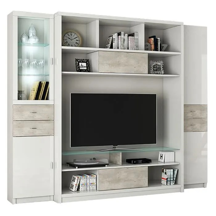 ensemble meuble tv multi rangements