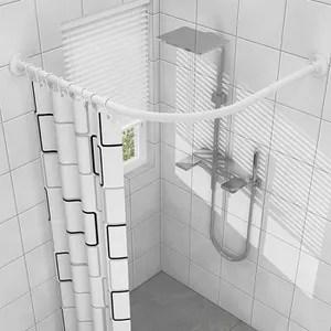 https www cdiscount com maison r tringle a rideaux de baignoire d angle html