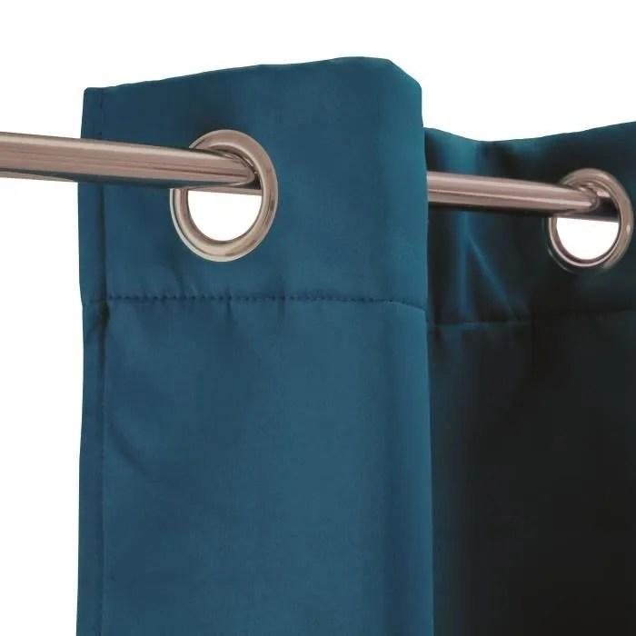 rideau thermique strong 140 x 250 cm bleu
