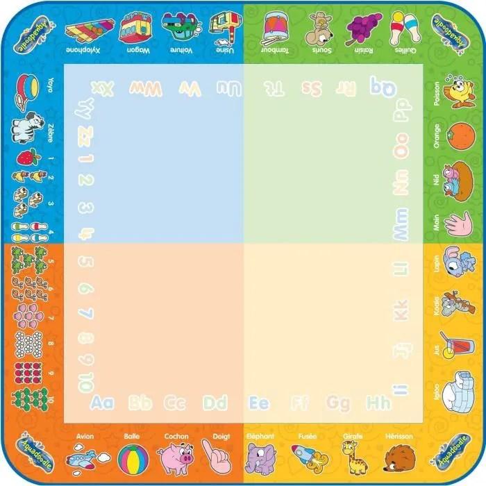 aquadoodle tapis 4 couleurs