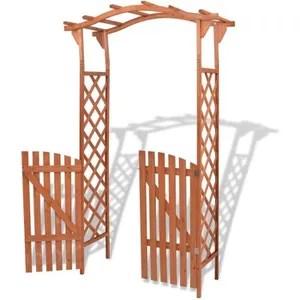 arche pour jardin bois