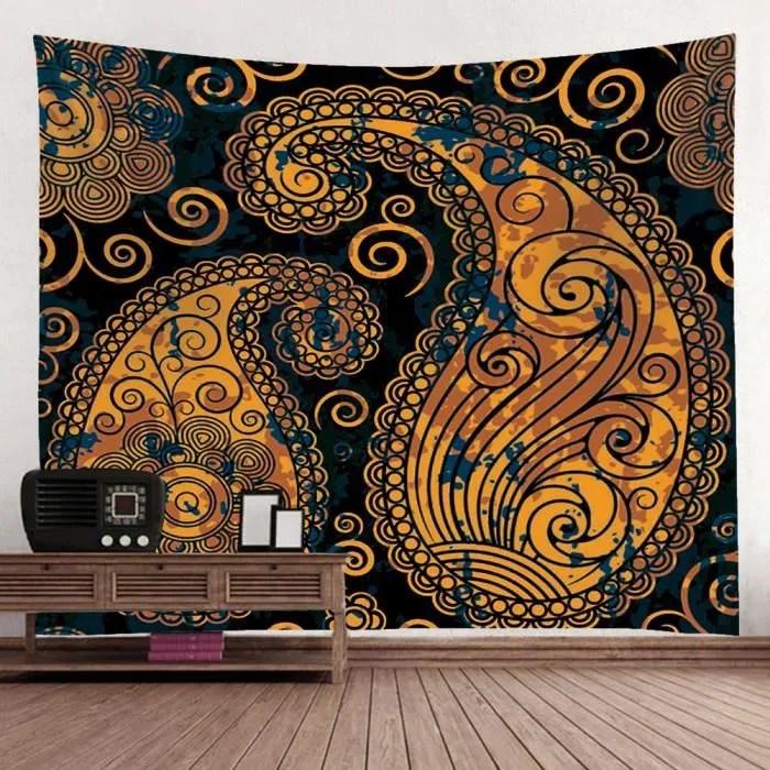 tissu tapisserie style ethnique