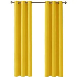 https www cdiscount com maison r rideau ocultant jaune html